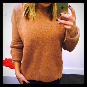 Madewell Blush/mauve wool sweater